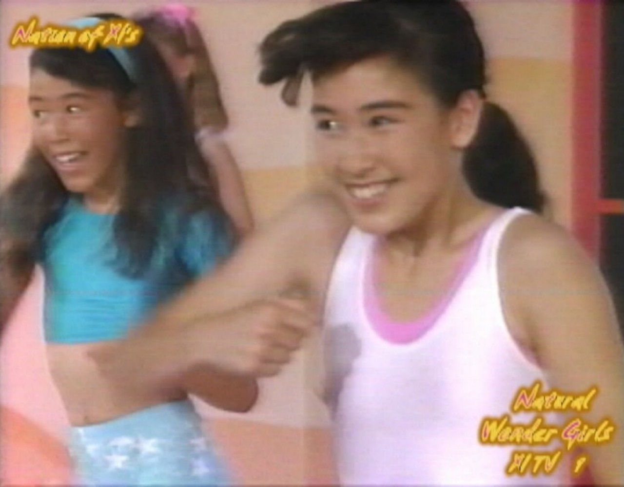 "Natural Wonder Girls! Dance Workout! ""Barbie Gets Nine Inch Nailed!"" - Lisa Mariano!"